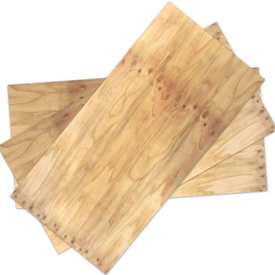 pine plywood non-structural sheet